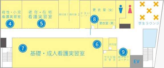 案内図 2F